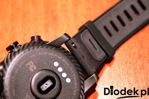 Xiaomi HUAMI Amazfit 2 Stratos - mocowanie bransoletki od zegarka