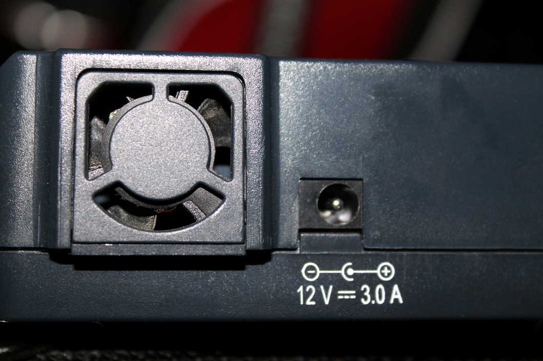 Wymiana wentylatora w ładowarce OPUS BT-C3100