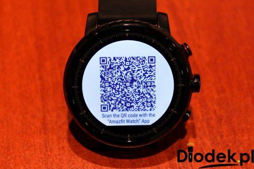 Kod QR do pobrania i parowania Xiaomi HUAMI Amazfit 2 Stratos z telefonem