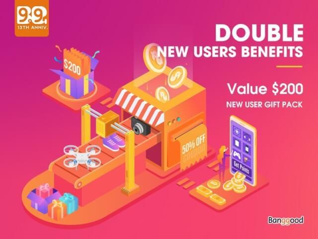 New User Benefits