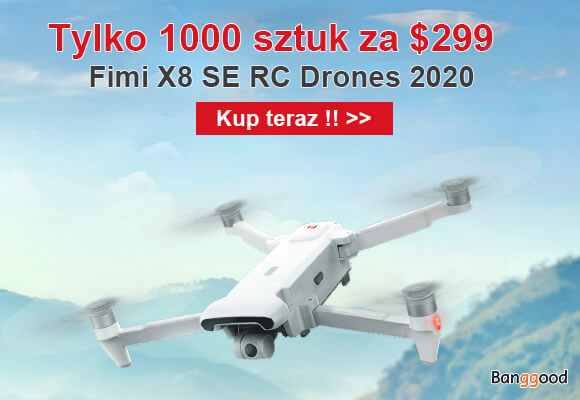 Promocja na dron FIMI X8SE
